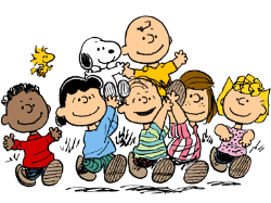 Peanuts and the gang