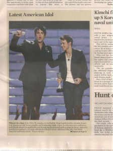 A pic grab from the front page of The Brunei Times today. I am off to Siberia.