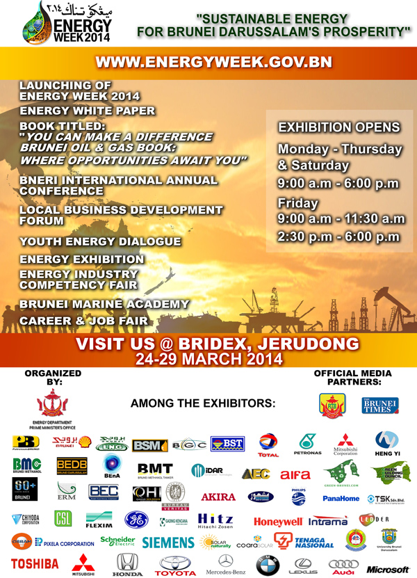 Brunei Energy Week 2014